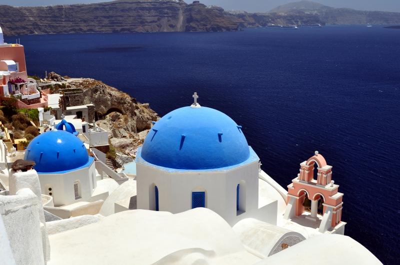 Santorini – Greklands vackraste