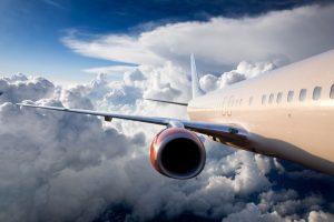 Flygplan i luften